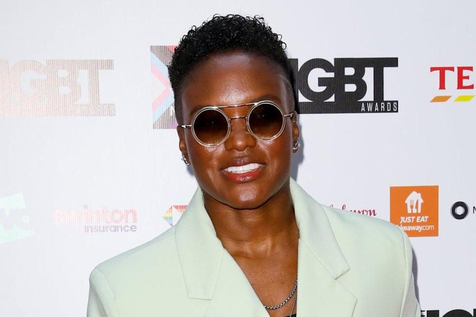 Nicola Adams on the red carpet on Friday  (Getty Images)