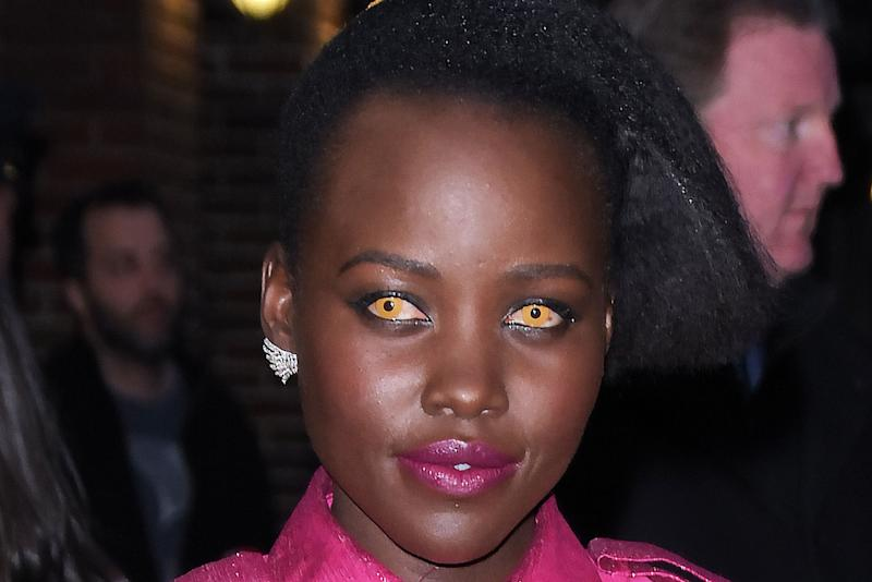 Lupita Nyong'o Wore Bright Yellow Contact Lenses and I'm Sensing a Trend Here