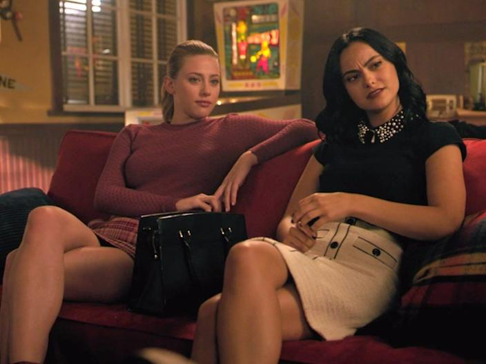 Betty and Veronica have very unique styles.