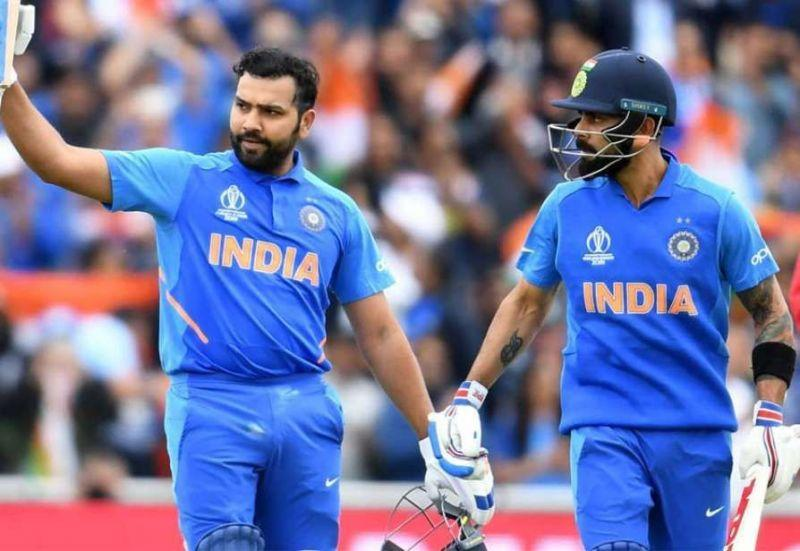 Rohit Sharma scored 5 tons in the 2019 WC