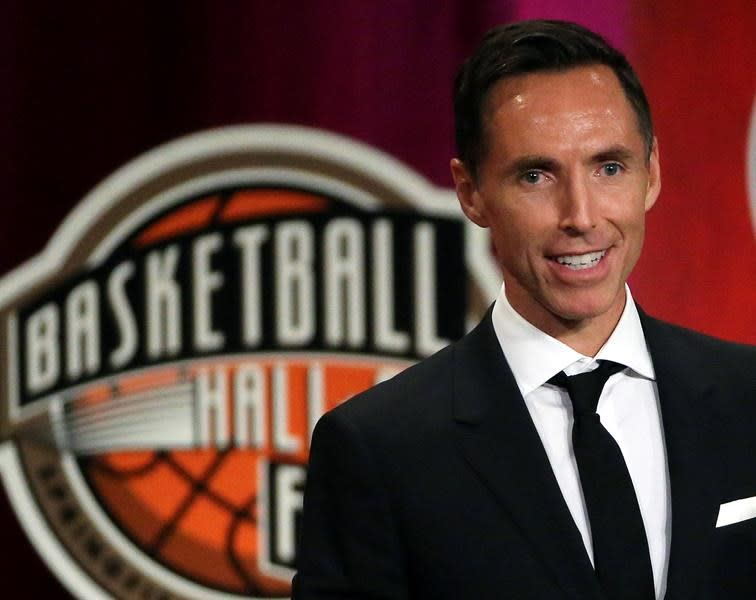 Nets hire Canadian Hall of Famer Steve Nash to run floor as coach