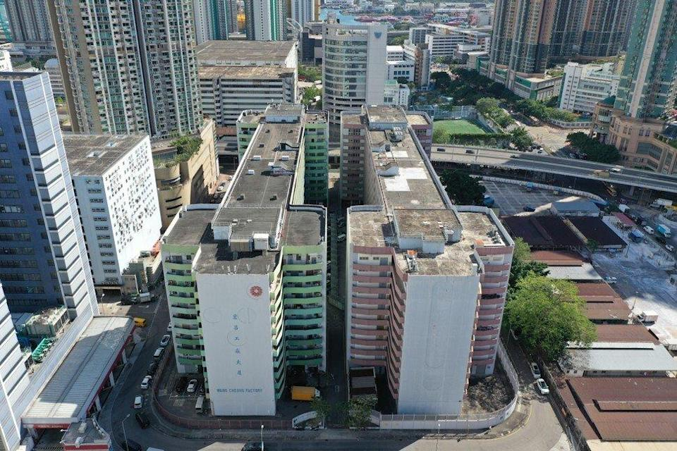 The Wang Cheong industrial site in Cheung Sha Wan is one of those deemed suitable for housing. Photo: May Tse