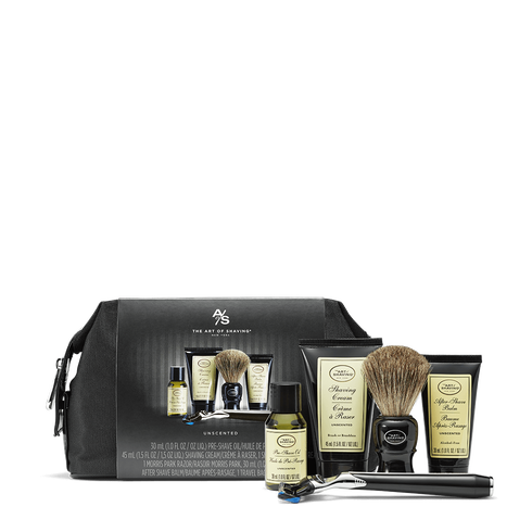 """<p><strong>the art of shaving</strong></p><p>theartofshaving.com</p><p><strong>$95.00</strong></p><p><a href=""""https://go.redirectingat.com?id=74968X1596630&url=https%3A%2F%2Fwww.theartofshaving.com%2Fshaving-products-shaving-kits%2FPG_00670535724186.html&sref=https%3A%2F%2Fwww.townandcountrymag.com%2Fstyle%2Fmens-fashion%2Fnews%2Fg2335%2Fbest-fathers-day-gifts%2F"""" rel=""""nofollow noopener"""" target=""""_blank"""" data-ylk=""""slk:Shop Now"""" class=""""link rapid-noclick-resp"""">Shop Now</a></p><p>A luxurious shave on-the-go is easy with a set like this one, which includes a genuine badger shaving brush, five-blade razor, and travel-size pre-shave oil, shaving cream, and after-shave balm.</p>"""