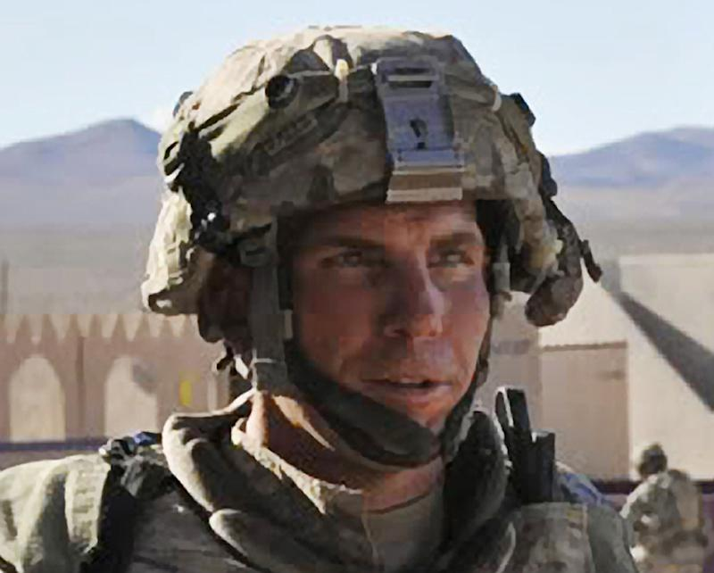 FILE - In this Aug. 23, 2011 file photo provided by the Defense Video & Imagery Distribution System, Army Staff Sgt. Robert Bales participates in an exercise at the National Training Center at Fort Irwin, Calif.  Bales, 39, accused of killing 16 Afghan civilians during a 2012 rampage, faces another preliminary hearing Tuesday. Defense lawyers for Robert Bales and military prosecutors were convening at Joint Base Lewis-McChord, south of Seattle. Bales is to be court-martialed on premeditated murder and other charges in the attack on two villages in southern Afghanistan. The Ohio native and father of two is accused of slaying mostly women and children during pre-dawn raids on March 11, 2012.  (AP Photo/DVIDS, Spc. Ryan Hallock, File)