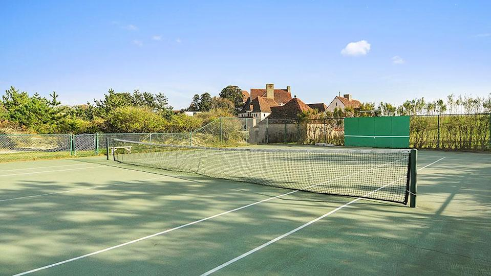 The tennis court - Credit: Photo: Courtesy of The Corcoran Group