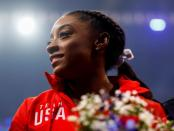FILE PHOTO: U.S. gymnastics Olympic trials are held in St. Louis