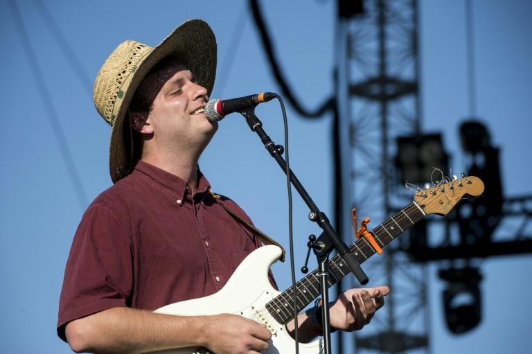 Musician Mac DeMarco performs at the Outdoor Stage during Coachella Valley Music And Arts Festival at Empire Polo Club on April 14, 2017 in Indio, California