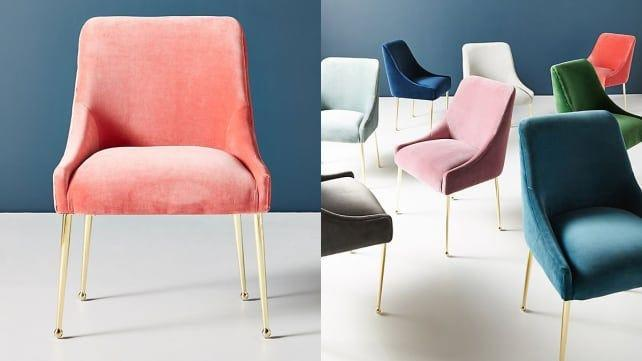 Who wouldn't want a posh velvet chair?