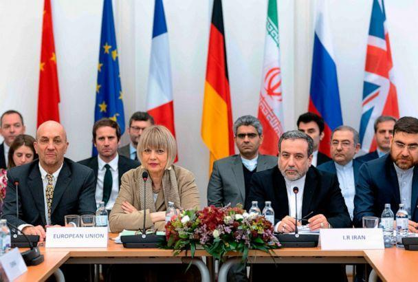 PHOTO: Joint Commission on Iran's nuclear program (JCPOA) at EU Delegation to the International Organizations office in Vienna, Austria, Dec. 6, 2019. (Joe Klamar/AFP via Getty Images, FILE)