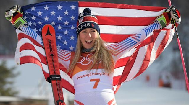 """<p>PYEONGCHANG, South Korea — For a creature of routine like American skiing superstar Mikaela Shiffrin, the waiting and waiting for her Olympics racing schedule to start was borderline tortuous. She had to find ways to keep herself relaxed as bad weather kept delaying her events. She passed the time by watching episodes of <a href=""""http://www.cbs.com/shows/blue_bloods/"""" rel=""""nofollow noopener"""" target=""""_blank"""" data-ylk=""""slk:Blue Bloods"""" class=""""link rapid-noclick-resp"""">Blue Bloods</a>, the <a href=""""http://fortune.com/fortune500/cbs/"""" rel=""""nofollow noopener"""" target=""""_blank"""" data-ylk=""""slk:CBS"""" class=""""link rapid-noclick-resp"""">CBS</a> cop drama starring <a href=""""http://www.imdb.com/name/nm0000633/"""" rel=""""nofollow noopener"""" target=""""_blank"""" data-ylk=""""slk:Tom Selleck"""" class=""""link rapid-noclick-resp"""">Tom Selleck</a>, and her family's favorite TV show. She texted with her sports psychologist, who urged her to stay patient and not fret about things she couldn't control. The night before her giant slalom race on Thursday in South Korea—Wednesday evening New York time—older brother Taylor, on hand to support his sister, danced around a living room with Mikaela. """"It was just like we are all together back in Colorado, goofing around and having fun,"""" says Taylor. """"We knew it was best to keep her mind off the event.""""</p><p>All the shimmying and texting and Tom Selleck paid off; Selleck, and his still excellent <a href=""""https://www.facebook.com/tomsellecksmustache/"""" rel=""""nofollow noopener"""" target=""""_blank"""" data-ylk=""""slk:mustache"""" class=""""link rapid-noclick-resp"""">mustache</a>, should take a bow for entering Olympic lore. On a sun-baked day in the mountains of South Korea, Shiffrin, 22, the reigning World Cup all-around skiing champion and current top women's skier in the world, won her first race of the <a href=""""http://time.com/4932670/2018-winter-olympics-when-where/"""" rel=""""nofollow noopener"""" target=""""_blank"""" data-ylk=""""slk:PyeongChang 2018 Winter Olympics Games"""" class=""""link rapid-noclick-"""