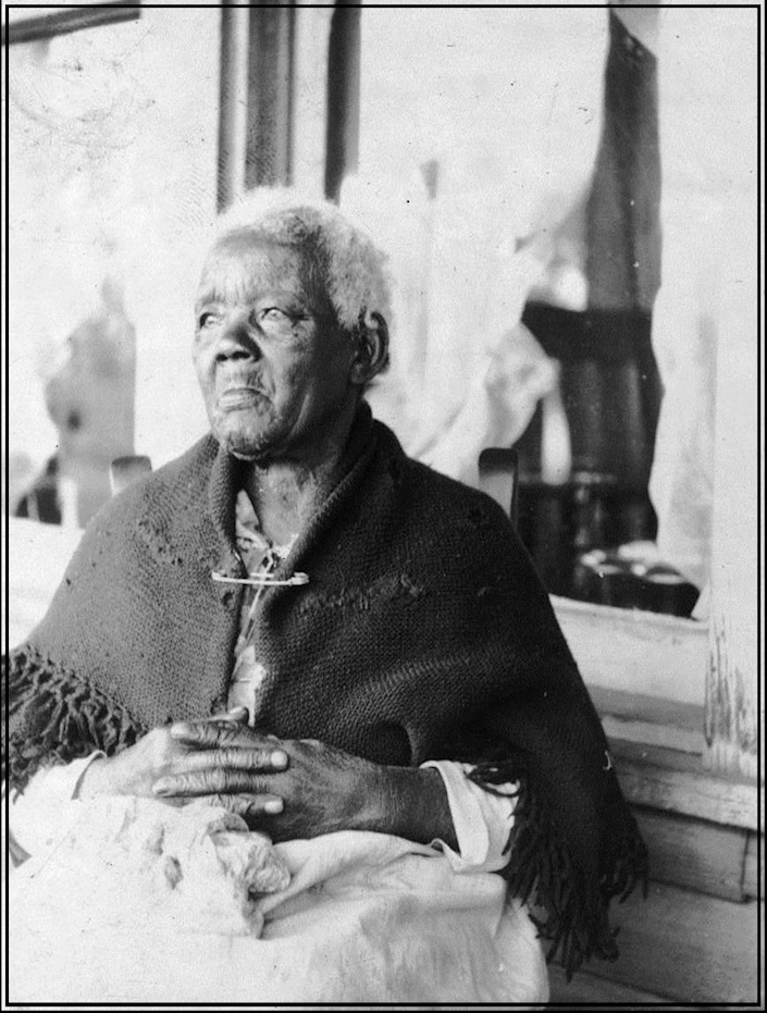 Sarah Gudger was a slave in North Carolina. She lived to be 121 and was interviewed about her life as a slave in 1937.