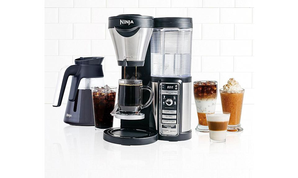 Ninja Coffee Bar Auto-iQ Brewer with Glass Carafe (Photo: Walmart)