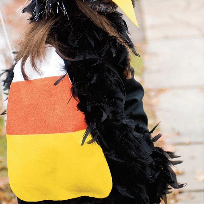 """<p>Your favorite candy can become your new favorite accessory when you put together this candy corn backpack. </p><p><strong><em><a href=""""https://www.womansday.com/home/crafts-projects/a28915116/candy-corn-treasure/"""" rel=""""nofollow noopener"""" target=""""_blank"""" data-ylk=""""slk:Get the Candy Corn Backpack tutorial"""" class=""""link rapid-noclick-resp"""">Get the Candy Corn Backpack tutorial</a>. </em></strong></p><p><a class=""""link rapid-noclick-resp"""" href=""""https://www.amazon.com/5Meters-Length-Black-Fastening-Fabric/dp/B07KYH85BC/?tag=syn-yahoo-20&ascsubtag=%5Bartid%7C10070.g.2488%5Bsrc%7Cyahoo-us"""" rel=""""nofollow noopener"""" target=""""_blank"""" data-ylk=""""slk:SHOP VELCRO TAPE"""">SHOP VELCRO TAPE</a></p>"""