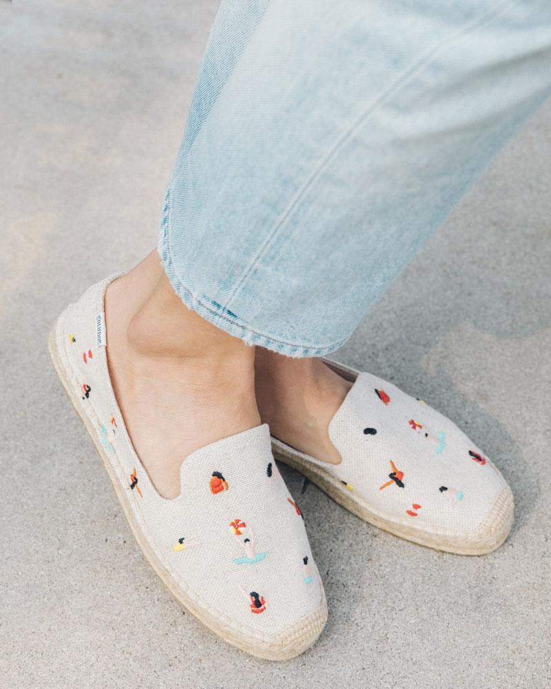 Swimmers Embroidered Espadrille (Photo: Soludos)