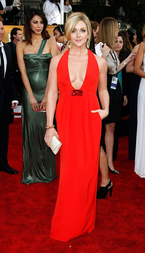 """WORST: <a href=""""http://movies.yahoo.com/movie/contributor/1800018822"""">Jane Krakowski</a> at the 15th Annual Screen Actors Guild Awards in Los Angeles - 01/25/2009"""