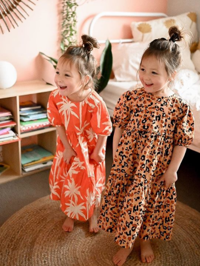 Best&Less' 'gorgeous' $15 girls dresses are set to fly off shelves. Photo: Instagram/georgie.and.co (supplied.)