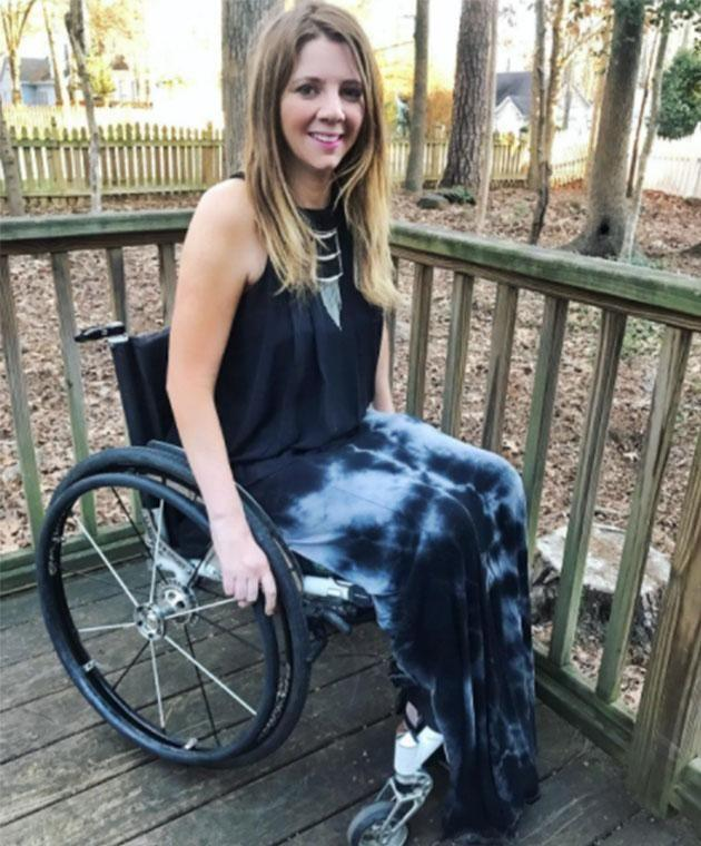 Rachelle was left paralysed by a tragic accident six years ago. Photo: Instagram/rachelles_wheels