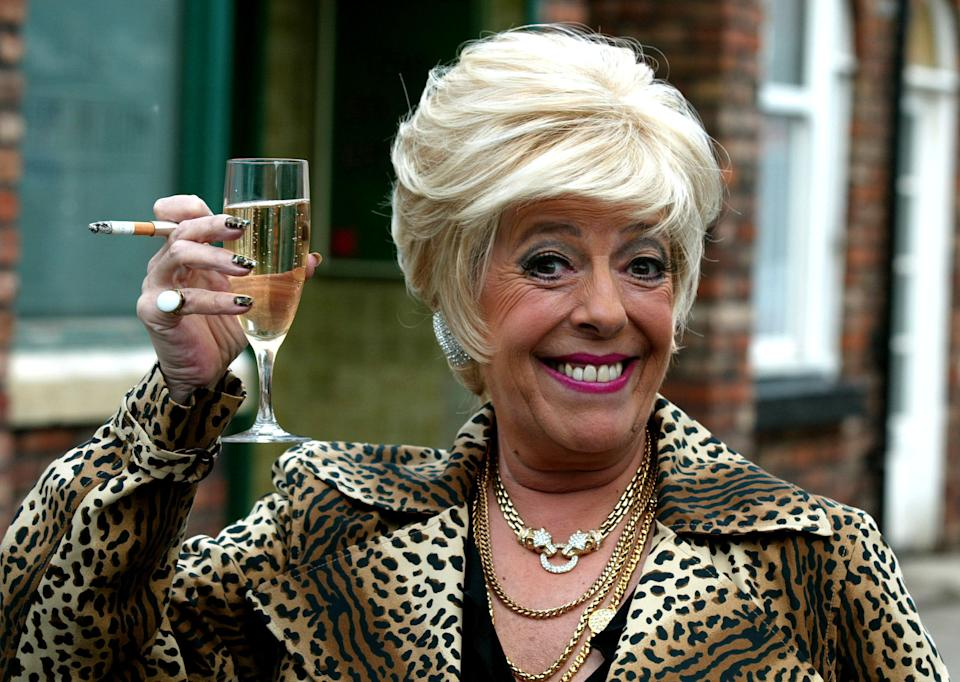 Julie Goodyear as Bet Lynch in Coronation Street (Getty Images)