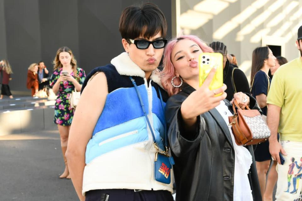Other showgoers at Coach spring '22. - Credit: Courtesy of Coach
