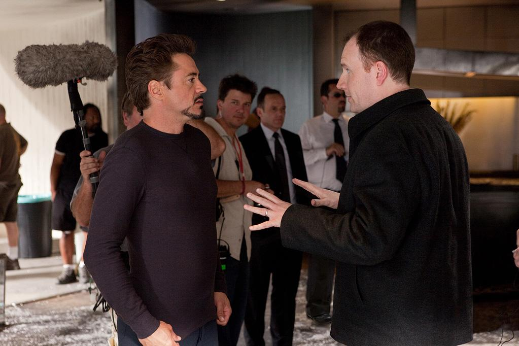 """<a href=""""http://movies.yahoo.com/movie/contributor/1800010914"""">Robert Downey Jr.</a> on the set of Paramount Pictures' <a href=""""http://movies.yahoo.com/movie/1810026429/info"""">Iron Man 2</a> - 2010"""