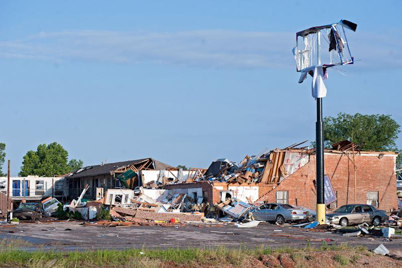 At Least 2 Killed and 29 Injured After Tornado 'Decimated' Oklahoma City Suburb