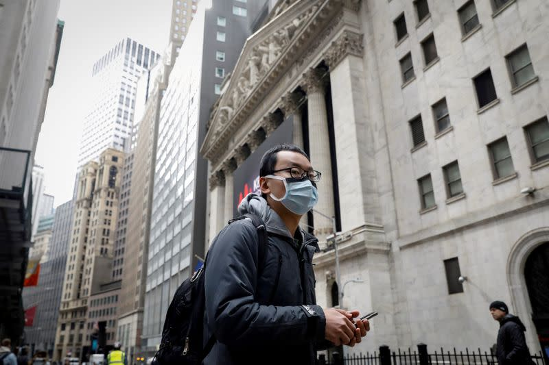Factbox: Wall Street coronavirus contingency plans - the state of play
