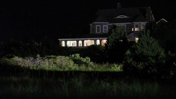 PHOTO: The lights are on at the Hyannis Port Yacht Club by the Kennedy Compound where police are investigating the death of Saoirse Kennedy Hill, the granddaughter of the late Robert F. Kennedy, in Hyannis Port, Mass. Aug. 1, 2019. (Faith Ninivaggi/Reuters)