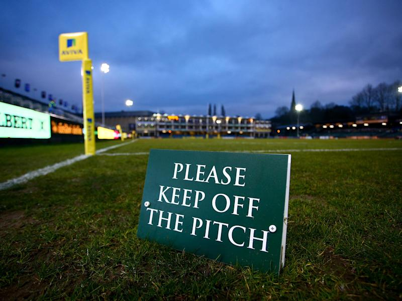 A small section of Bath players are accused of running across the Recreation Ground naked: Getty