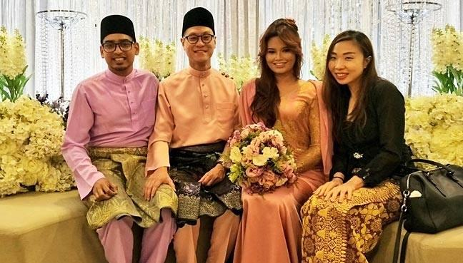 The couple were engaged at Ipoh's Kinta Riverfront Hotel in March this year.