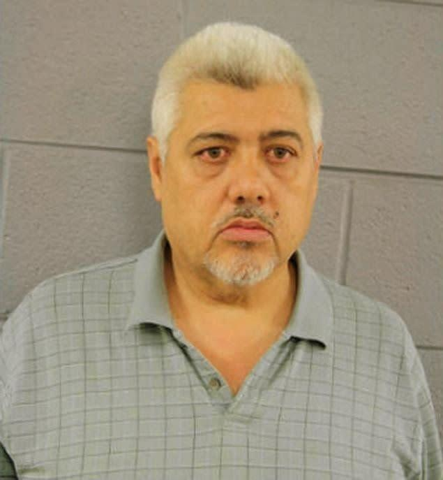 """Gerardo Perez, 50, was involved in a tour of a Chicago animal shelter when he disappeared from the group. A shelter employee claims to have found Perez in a restricted area, where it appeared he just had sex with a pit bull. <a href=""""http://www.huffingtonpost.com/2013/06/03/gerardo-perez-sex-pit-bull-chicago-animal-shelter_n_3377866.html?1370267797"""" rel=""""nofollow noopener"""" target=""""_blank"""" data-ylk=""""slk:Read the whole story here."""" class=""""link rapid-noclick-resp"""">Read the whole story here.</a>"""