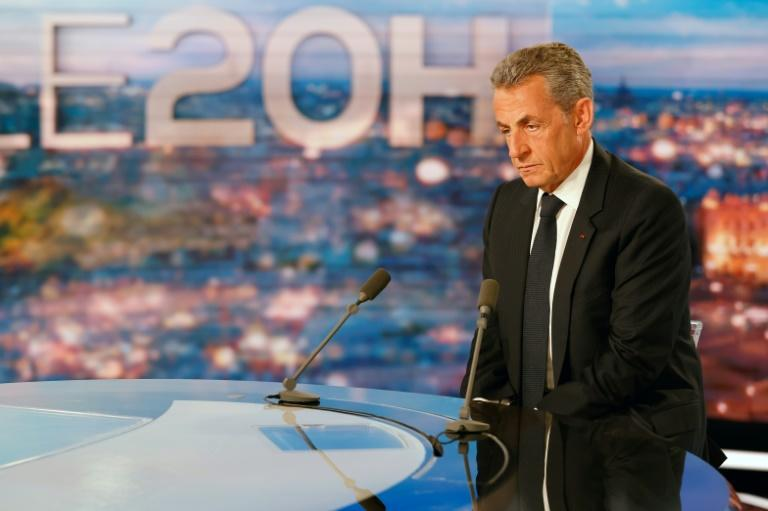 In a television interview, Sarkozy repeated that he had 'turned the page' on his political career