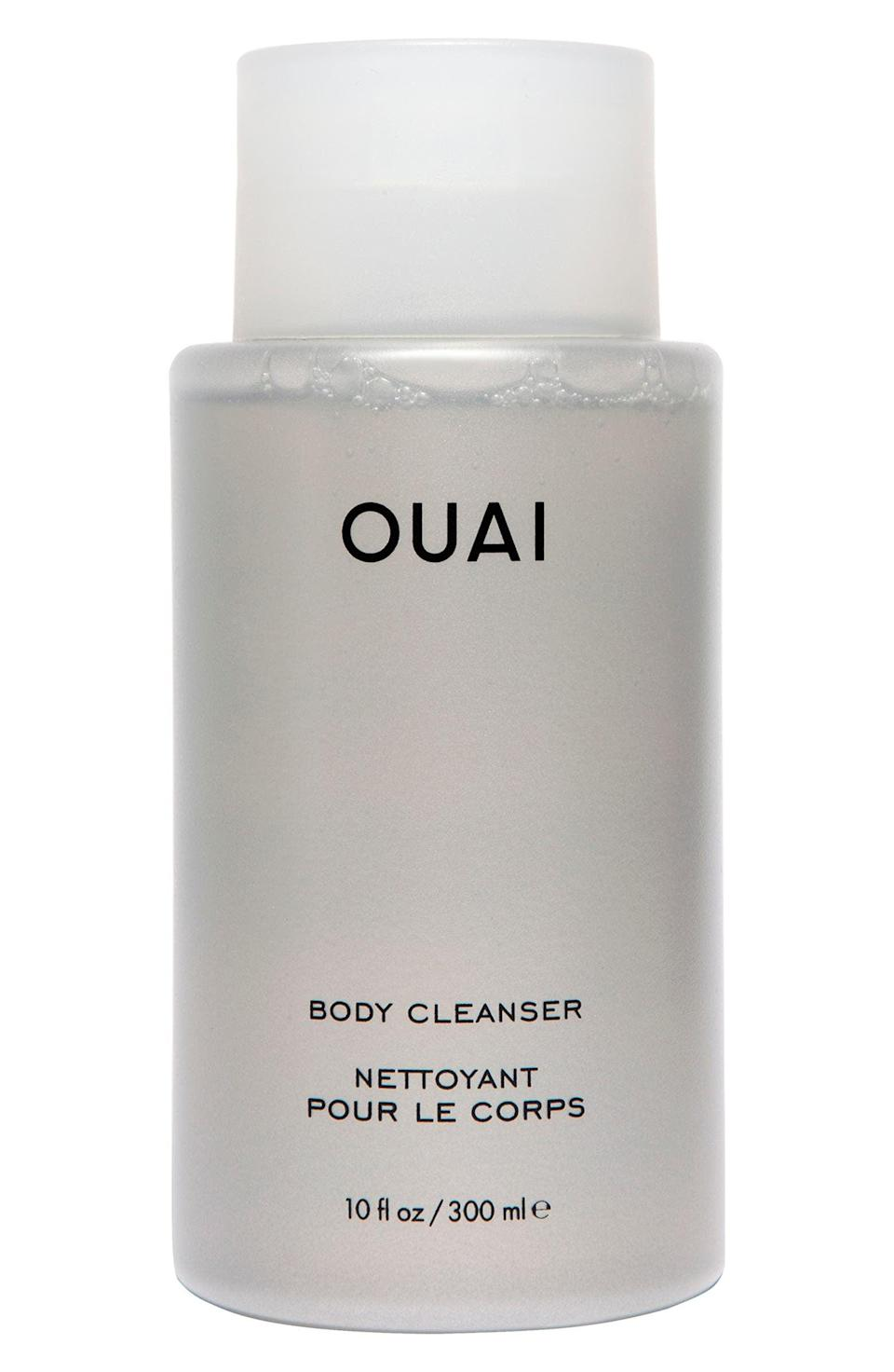 <p>The <span>Ouai Body Cleanser</span> ($28) features a hydrating, jojoba-rich formula that smells like fresh citrus and a luxurious bouquet of flowers.</p>