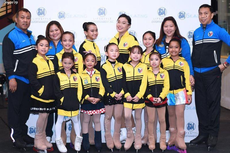Team PHL bags 5th in Ice Skating Asia