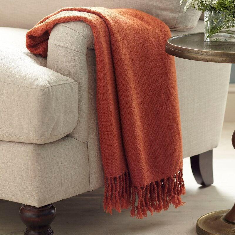 "<h2>Three Posts Jetton Throw</h2><br>Not only does this throw blanket come in multiple pretty colors, but it's also the most affordable on this list. On sale for just $34.99, you'll find yourself buried beneath this snuggly style-maker. <br><br><strong>Comfort Critics Say:</strong> ""Exactly what I was looking for to cover a spot on my chair that won't come out! The throw is exactly the color shown online (not always the case) and is soft and cozy. Has a little 'dressed up' pattern so it looks nice in a more formal living room."" - <em>Kathleen</em> <br><br><strong><em><a href=""https://fave.co/2LYBFML"" rel=""nofollow noopener"" target=""_blank"" data-ylk=""slk:Shop Wayfair"" class=""link rapid-noclick-resp"">Shop Wayfair </a></em></strong><br><br><strong>Three Posts</strong> Jetton Throw, $, available at <a href=""https://go.skimresources.com/?id=30283X879131&url=https%3A%2F%2Ffave.co%2F2WGOflH"" rel=""nofollow noopener"" target=""_blank"" data-ylk=""slk:Wayfair"" class=""link rapid-noclick-resp"">Wayfair</a>"