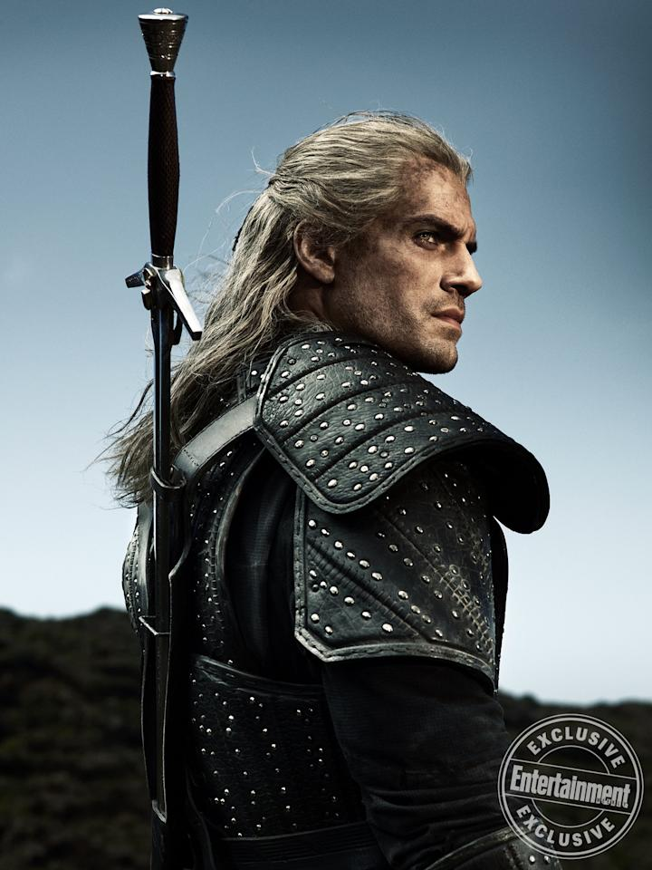 San Diego Comic-Con 2019 is giving fans all the fantasy, sci-fi, and superhero content they can handle — and EW has a ton of exclusive images and info, like this photo of Henry Cavill as Geralt in Netflix's <em>The Witcher</em>. Click through the gallery ahead for more.