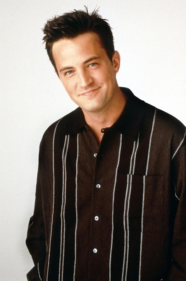 "The ""Friends"" star got a hefty raise his last year with the show. The actor, along with his fellow cast members, took in $1.2 million an episode plus a portion of syndication profits. Not bad, Chandler Bing. (Photo courtesy of Warner Bros./Everett Collection)"