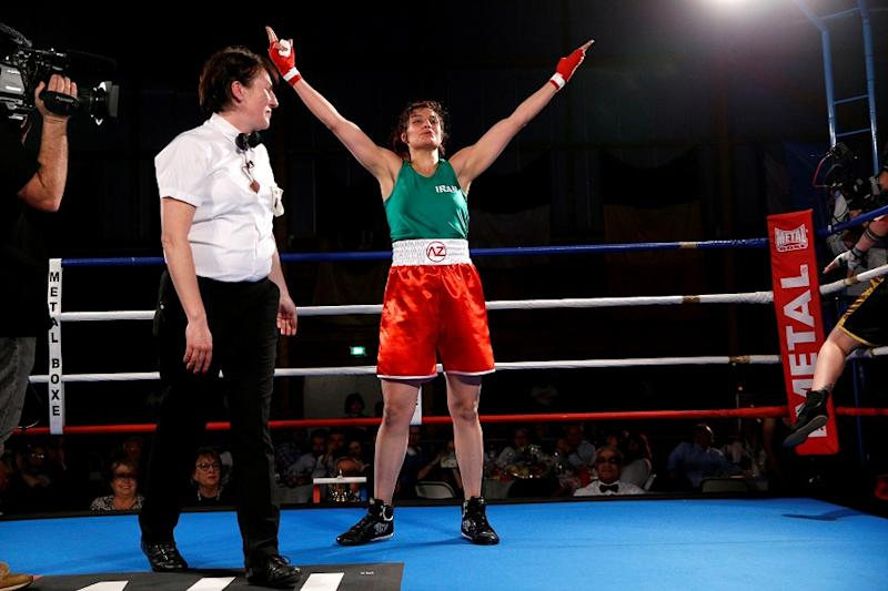 First Iranian Female Boxer to Win Internationally Faces Arrest if She Returns Home