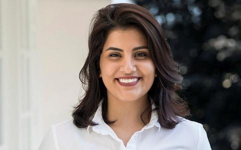 Saudi women's rights activist Loujain al-Hathloul was arrested last year after campaigning for the abolishment of male guardianship laws - Credit: Reuters