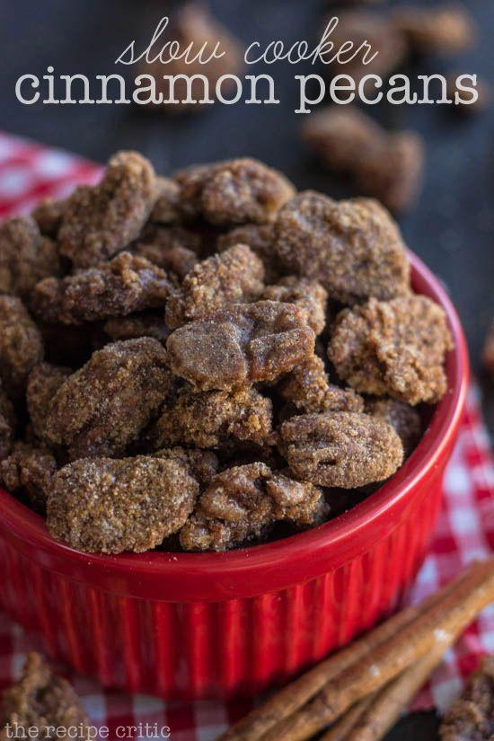 """<p>Warning: Making this recipe will result in a house that smells amazing.</p><p><strong>Get the recipe at <a href=""""http://therecipecritic.com/2013/10/slow-cooker-cinnamon-pecans/"""" rel=""""nofollow noopener"""" target=""""_blank"""" data-ylk=""""slk:The Recipe Critic"""" class=""""link rapid-noclick-resp"""">The Recipe Critic</a>.</strong> </p>"""