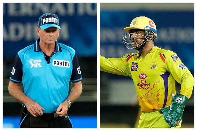 IPL 2020: CSK Fans Take a Swipe At Harbhajan Singh For His Reaction Over MS Dhoni's Wide Ball Controversy