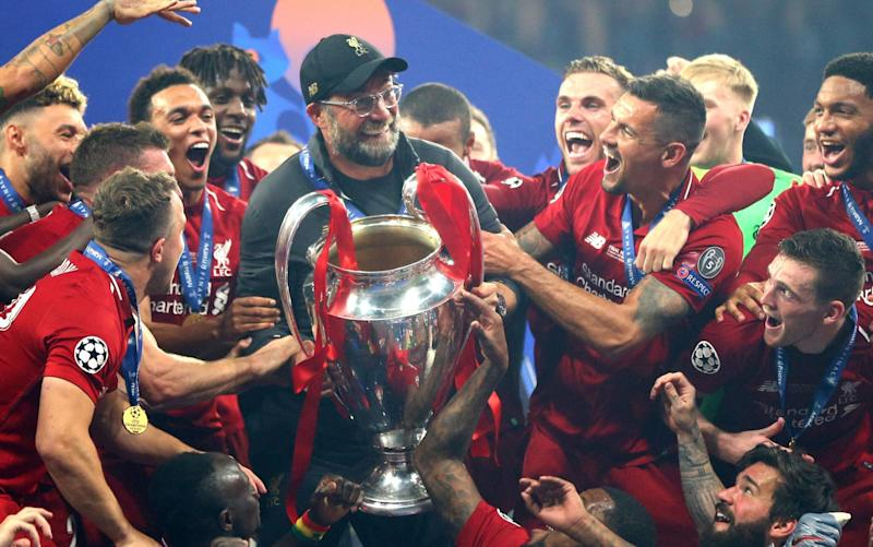 Liverpool won the Champions League in 2019 and have to face Ajax, Atalanta and Danish side Midtjylland in this season's group stage - Getty Images
