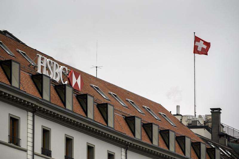 Swiss prosecutors have closed an investigation into claims HSBC's Geneva branch helped clients evade millions of dollars in taxes (AFP Photo/Fabrice Coffrini)