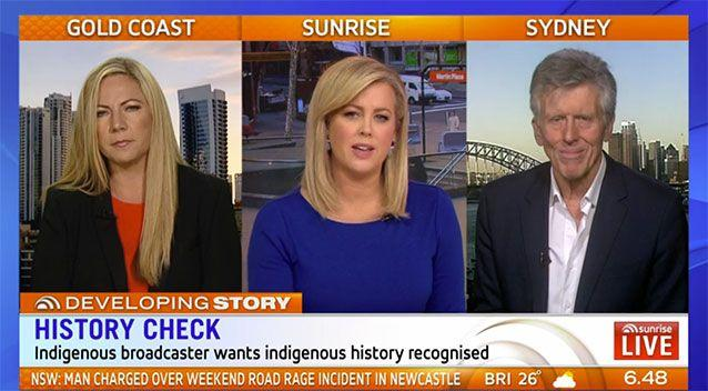 The Sunrise panel agreed telling 'both stories' was the best way to go. Source: Sunrise