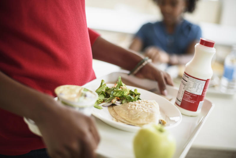 "Two dads are helping erase the school lunch debt in Washington state with a <a href=""https://www.gofundme.com/erase-washington-school-lunch-debt"" target=""_blank"">GoFundMe campaign</a>."
