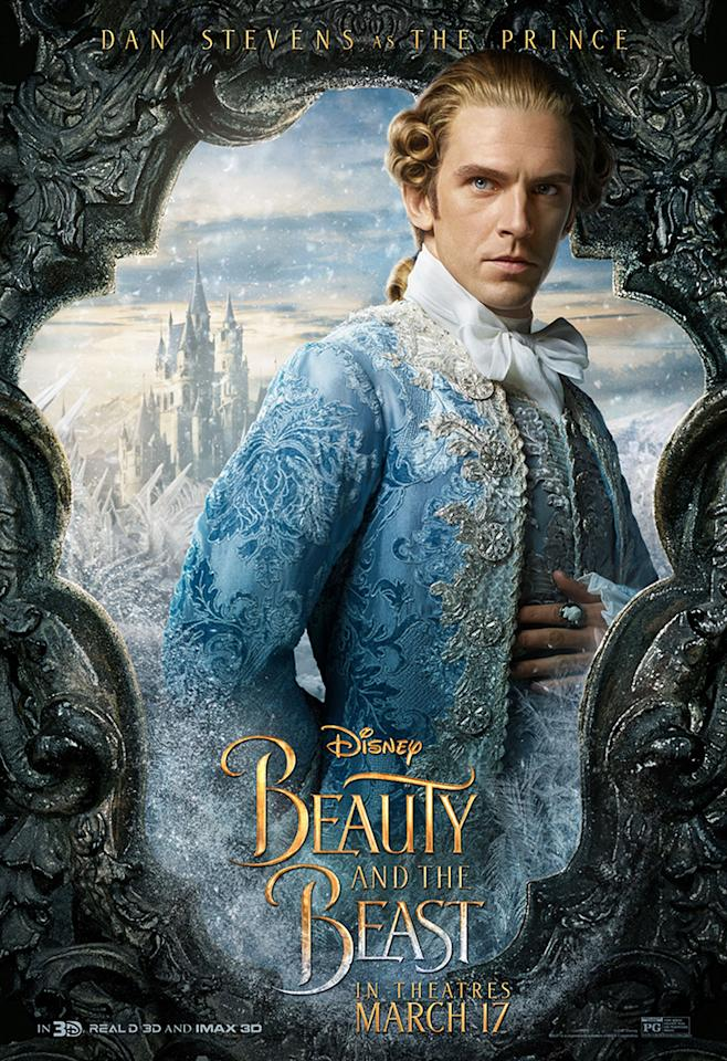 <p>Dan Stevens as The Prince. The other half of The Beast – this is the man he once was… and will be again. </p>