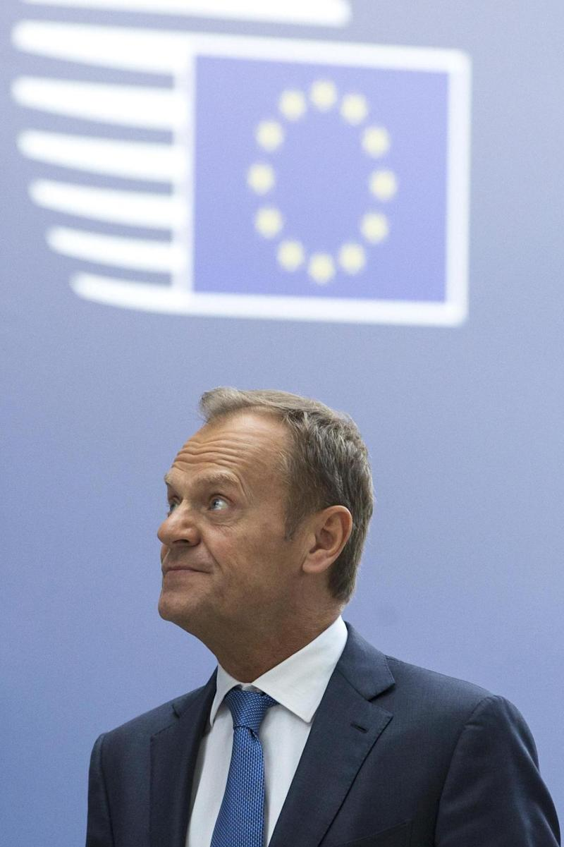 United: European Council President Donald Tusk (AP)