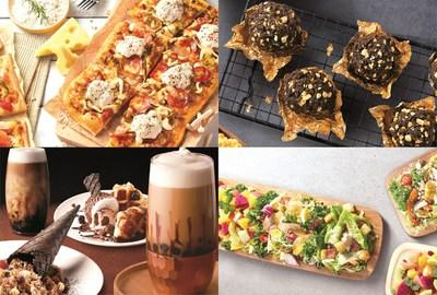A selection of Pizza Hut's new menu at the Pioneer store in Nanjing