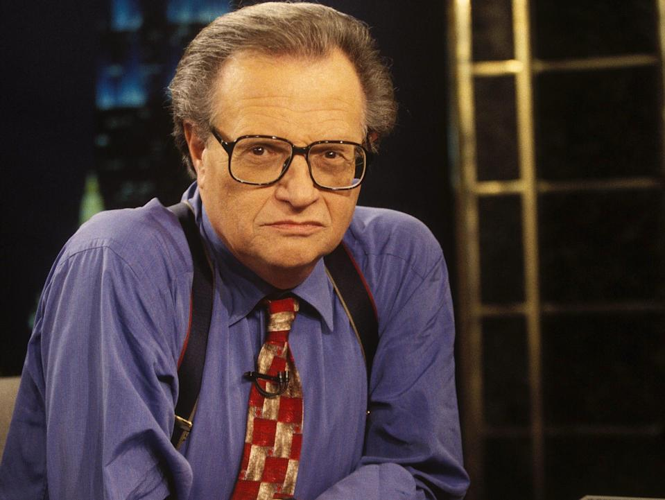 Larry King Georges Merillon Getty