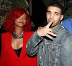 <p>Rihanna was spotted at Drake's post-concert party at Greenhouse in New York City. But what did it mean?! (Photo: WireImage) </p>