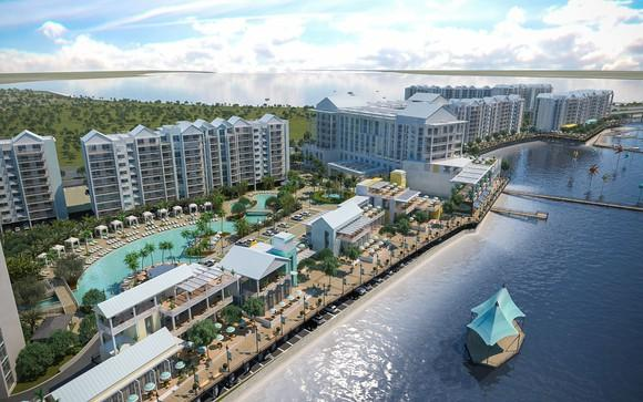A rendering of the planned Sunseeker Resort in Port Charlotte, Florida.